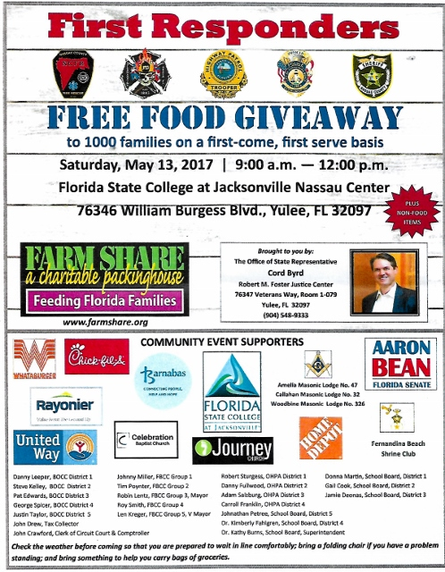 Food giveaway poster 498x640 - Difference Between Food Banks & Food Pantries